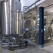 Gamme MINER'ICE - Gamme ICE pour la production d'eau minérale à partir de 8000 bouteilles/heure soit l'équivalent de 12m3/heure. Filtration sur cartouche, conception 100% hygiénique, sans chlore, sans UV, sans ozone.