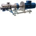 Pompe à double vis hygiénique - KS KARL SCHNELL développe et renforce son partenariat avec ITT/BORNEMANN pour la distribution des pompes à double vis hygiéniques sur les marchés français et maghrébin.