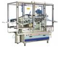 Machine étiqueteuse d'emballage cylindrique ou recipient roulant