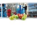 Equipements frigorifiques - Equipements en froid positif ou négatif ; atmosphère contrôlée - ULO-XLO. Cette dernière technique améliore la conservation des fruits avec teneur en O2 et CO2<1% permettant de garder une excellente fermeté.